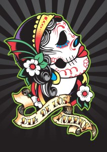 Mexican_Day_of_the_Dead_Skull_by_satansbrand