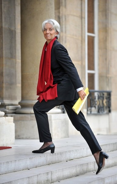 France Finance minister Christine Lagard