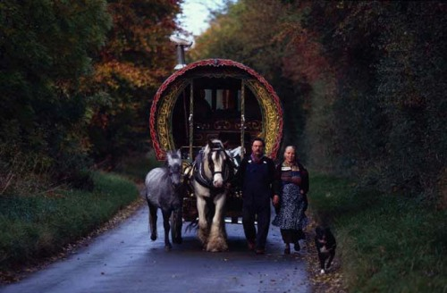 Leslie and Edna Elliot. Romany Gypsies in England.