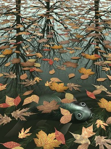 unknown-artist-mc-escher-three-worlds-i-80752