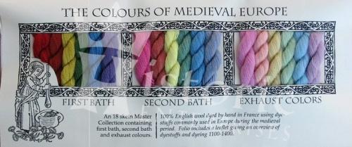 medieval colours