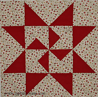 """North Star quilt"""