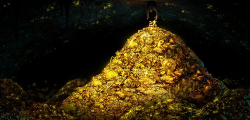 treasure-pile